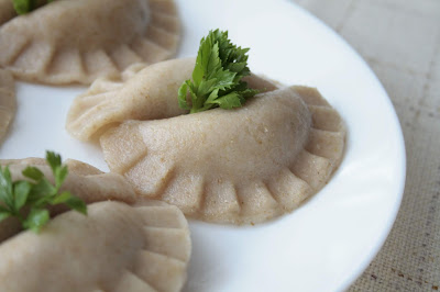 Low FODMAP gluten free Polish dumplings 'pierogi'
