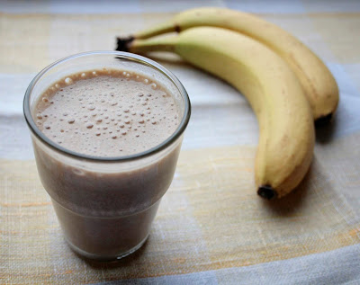 Low Fodmap banana coffee smoothie