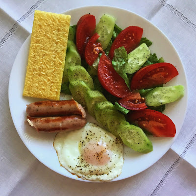 Low FODMAP lighter English Breakfast