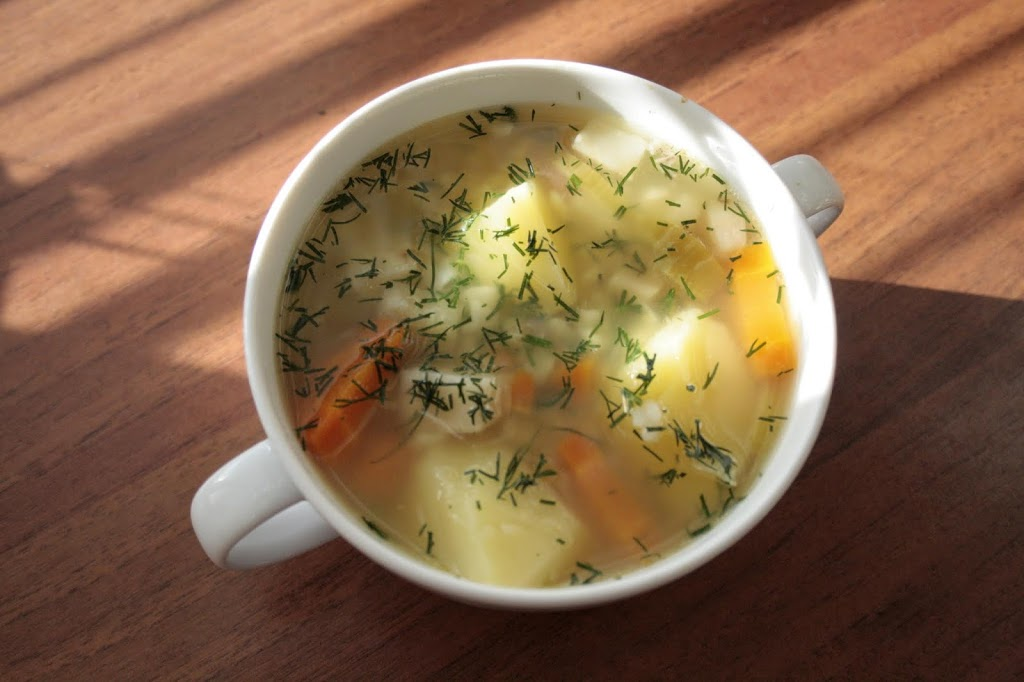 Low FODMAP gluten free 'Krupnik' – Polish soup