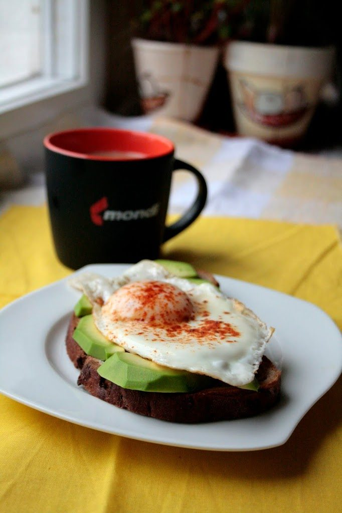 Low FODMAP egg and avocado on toast.