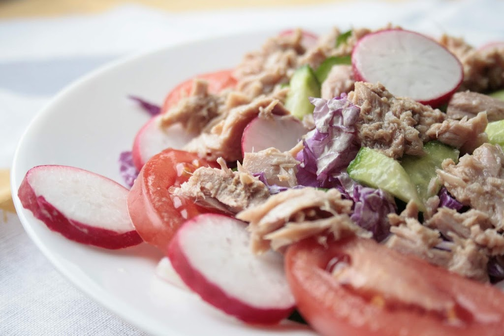 Low FODMAP tuna salad.