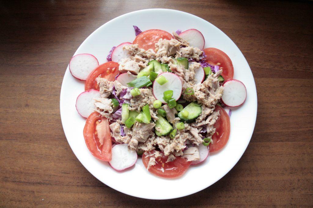 Low FODMAP tuna salad