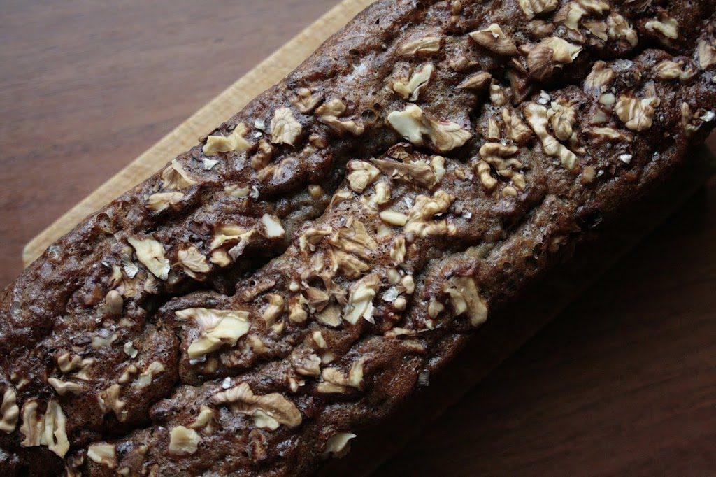 Low FODMAP, gluten free banana bread.