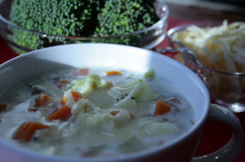 broccoli and carrot soup