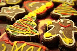 Gluten Free Gingerbread man biscuits (Low FODMAP)