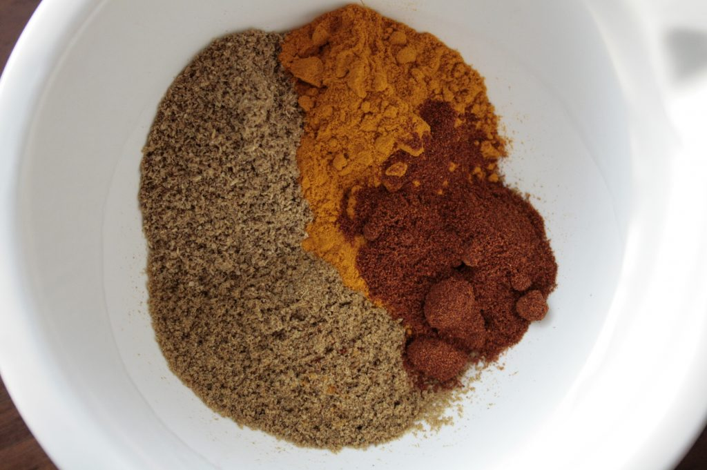 Low FODMAP chicken curry spices