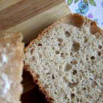 spelt sourdough bread slice