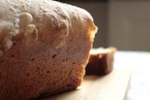 100 % spelt sourdough bread's structure