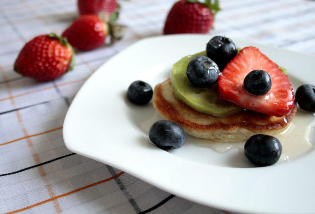 Low FODMAP American style pancakes