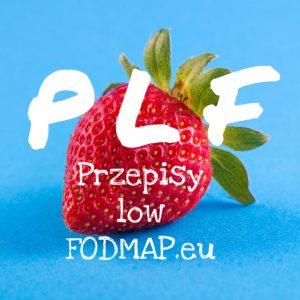 PLF Przepisy low FODMAP logo