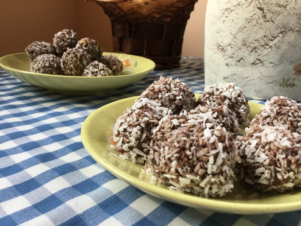 No Bake Oat Chocolate Balls