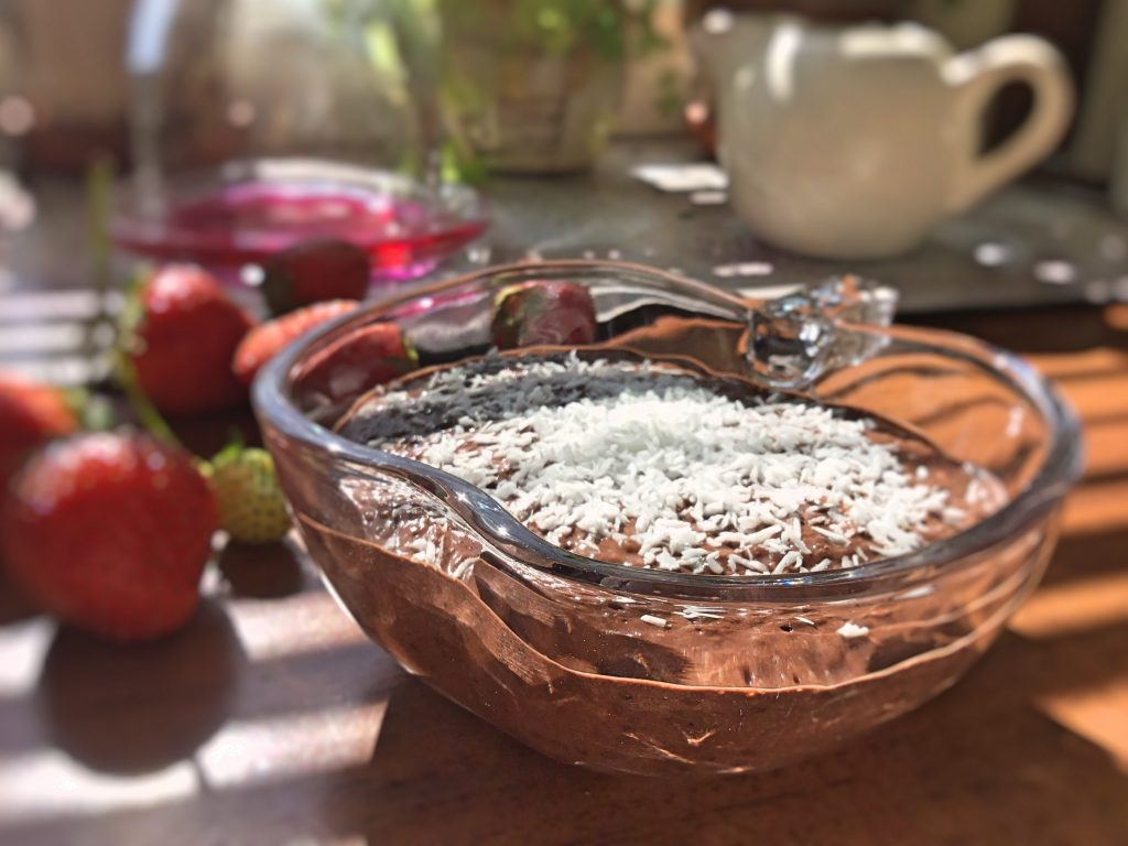 Low FODMAP Coconut Chocolate Mousse
