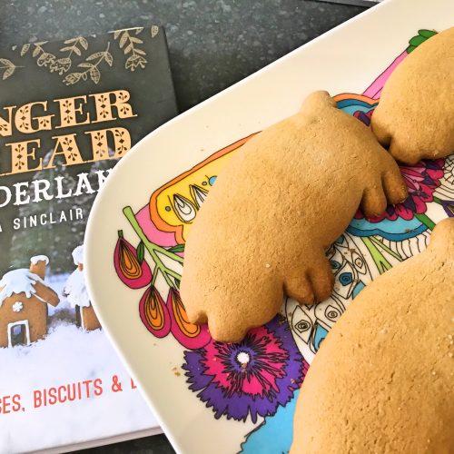 Light gingerbread biscuits - gluten free, Low FODMAP