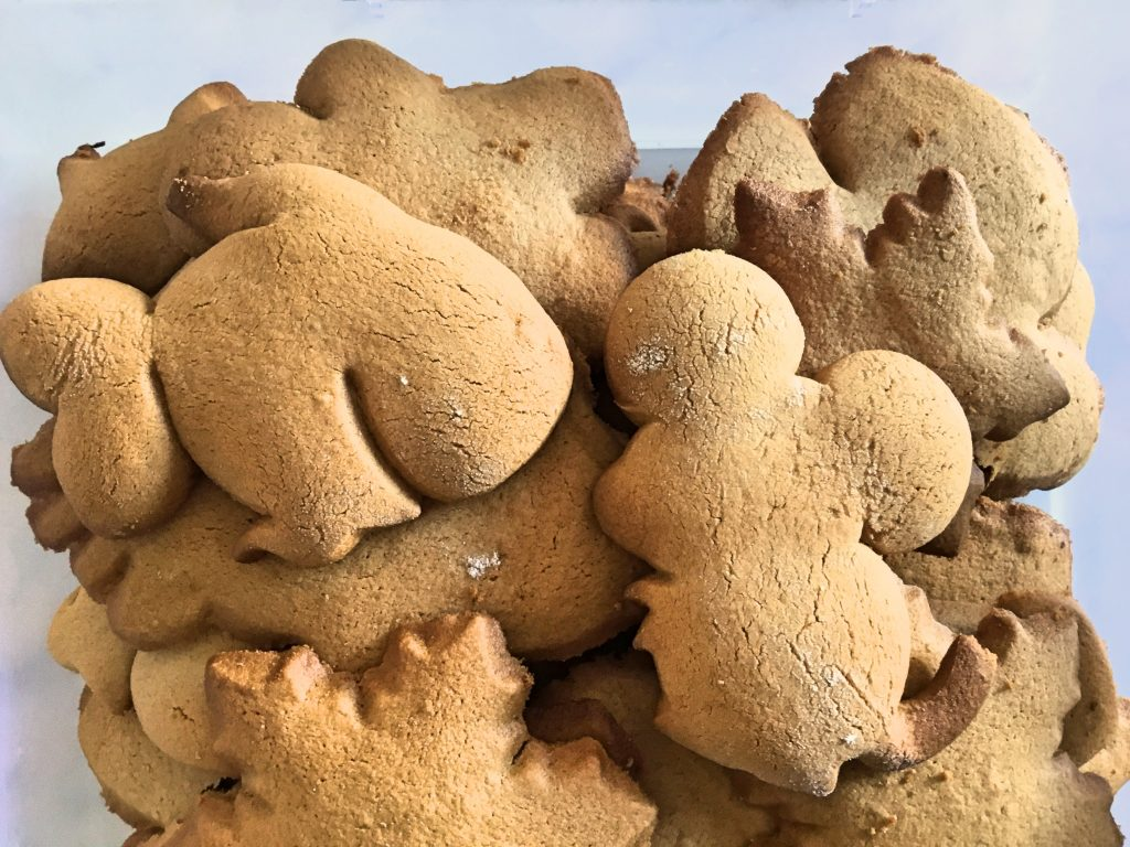 Gluten Free Gingerbread Snappy Biscuits - Low FODMAP