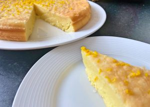 Lemon drizzle cake Low FODMAP and gluten free