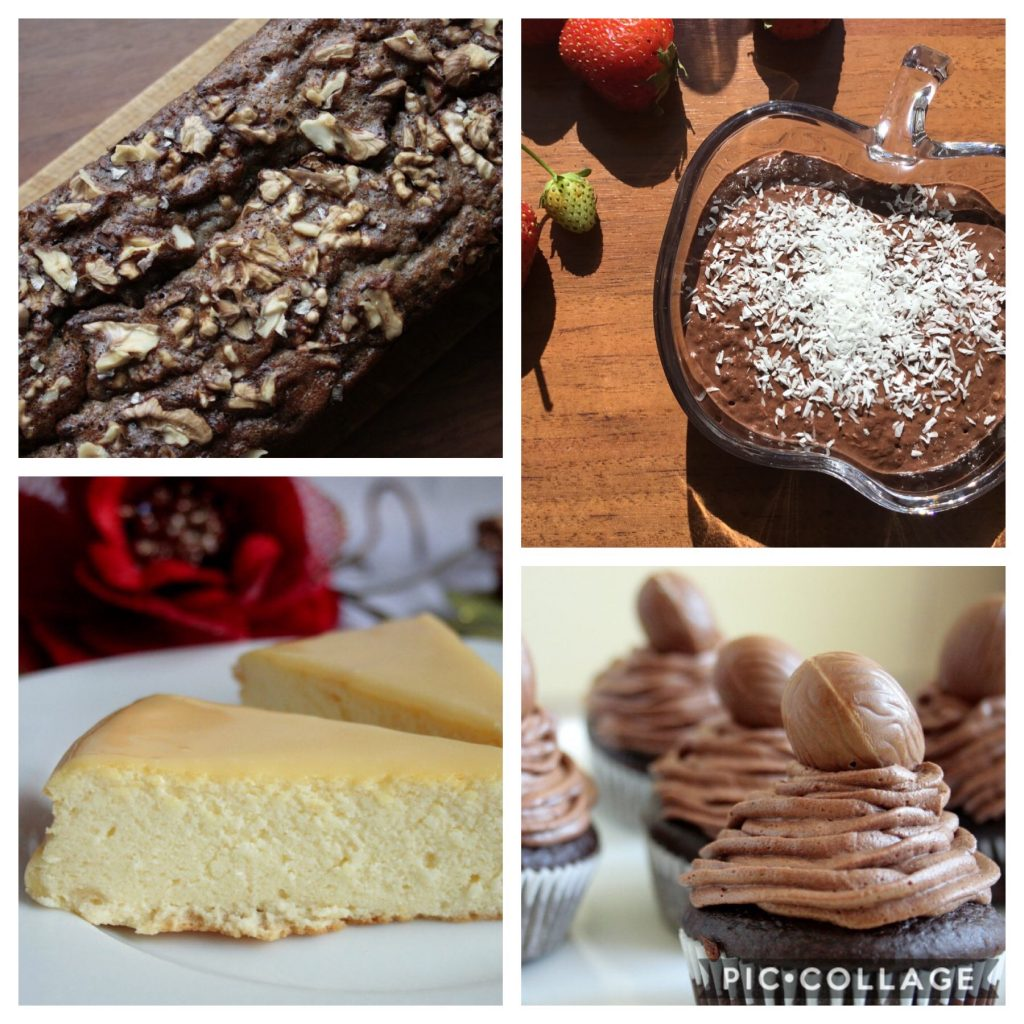 Low FODMAP Desserts and cakes ideas