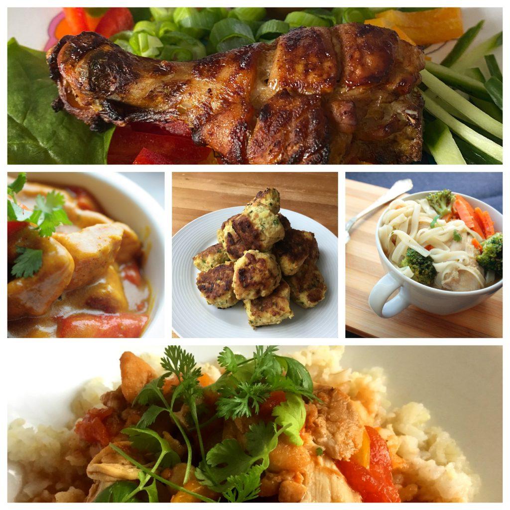 Collage - Chicken Dishes