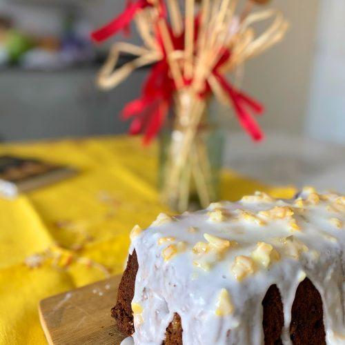 Ginger Spiced Beer Cake gluten free