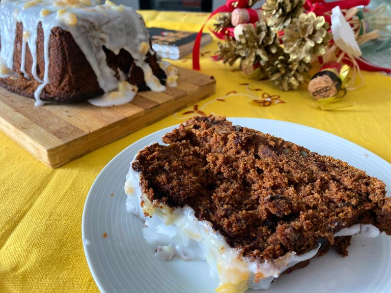 Gluten Free Ginger Cake (Low FODMAP)