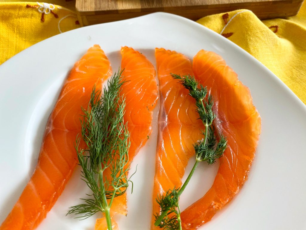 Sliced Gravadlax - Smoked Style Salmon
