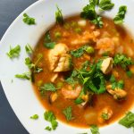 Low FODMAP Spicy Fish Soup