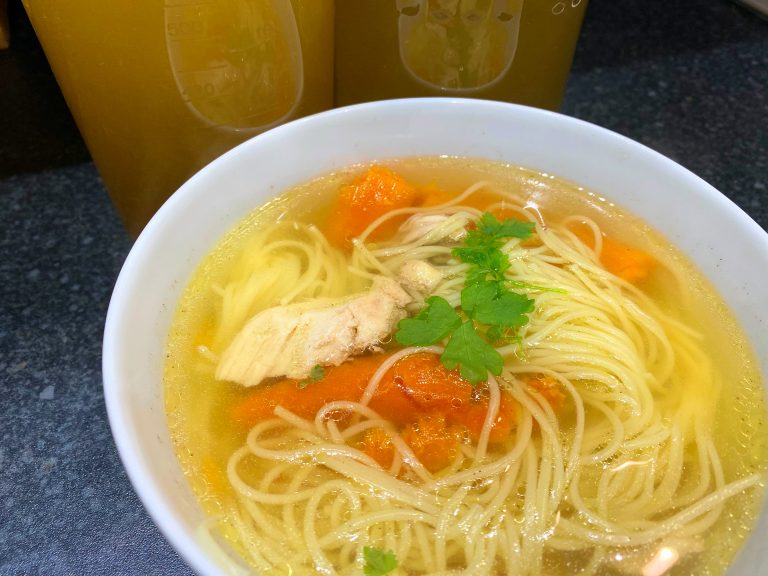 Simple Chicken Noodle Soup (Low FODMAP)