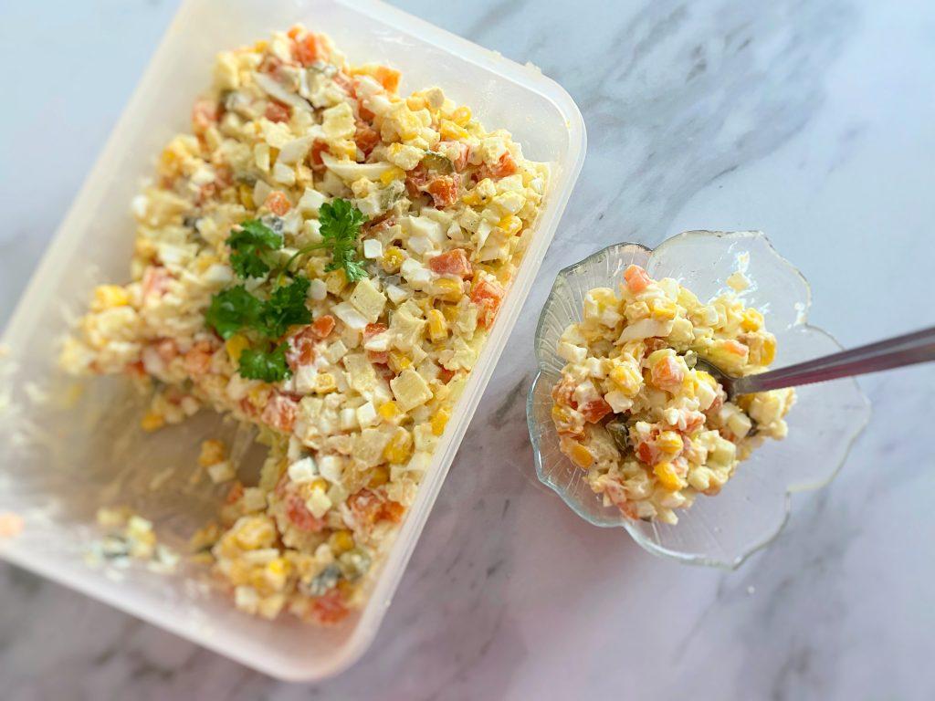 Polish Vegetable Salad (Low FODMAP)