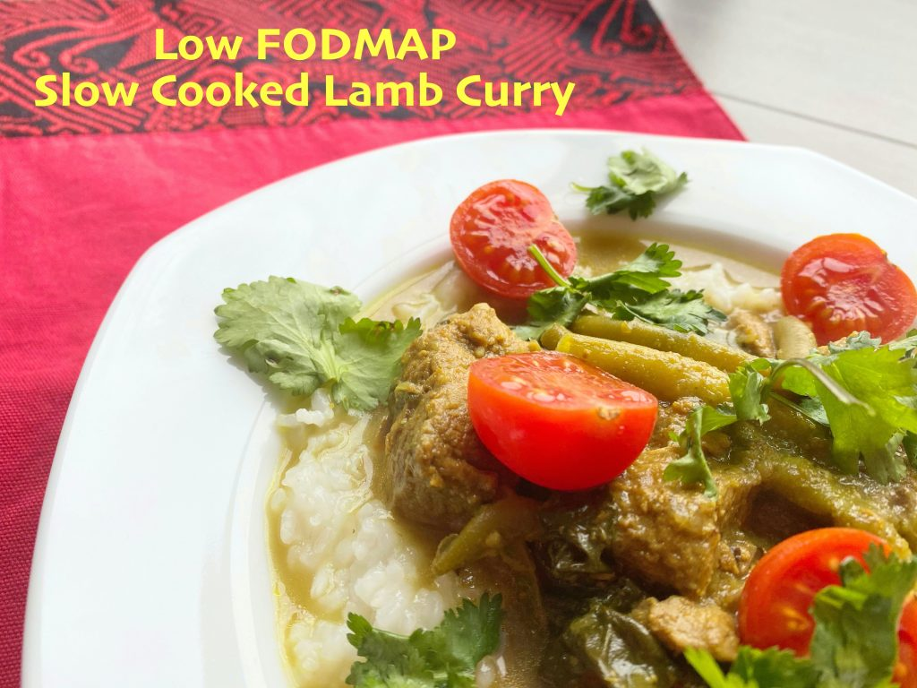 Low FODMAP Slow Cooked Lamb Curry-text