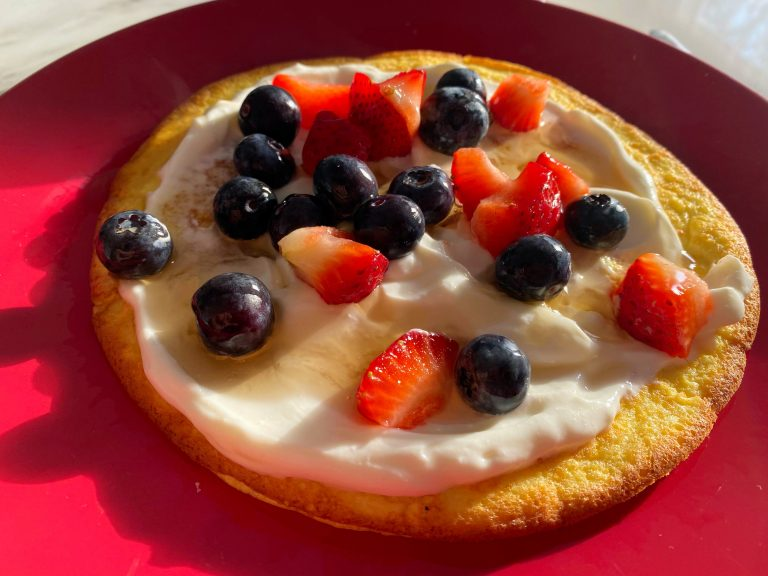 Low FODMAP Sweet Omelette