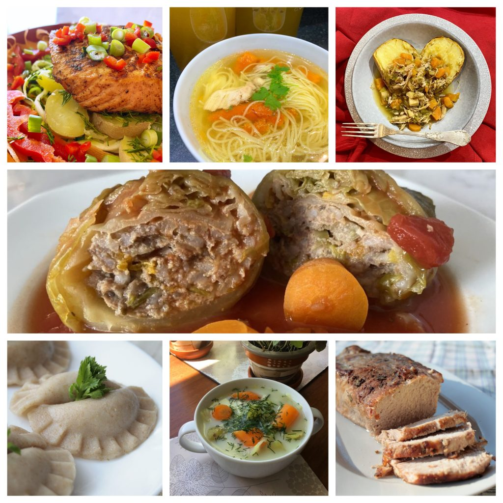 Collage- Low FODMAP dinners