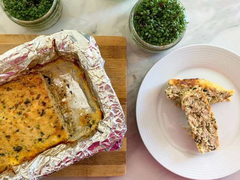 Low FODMAP Turkey Terrine