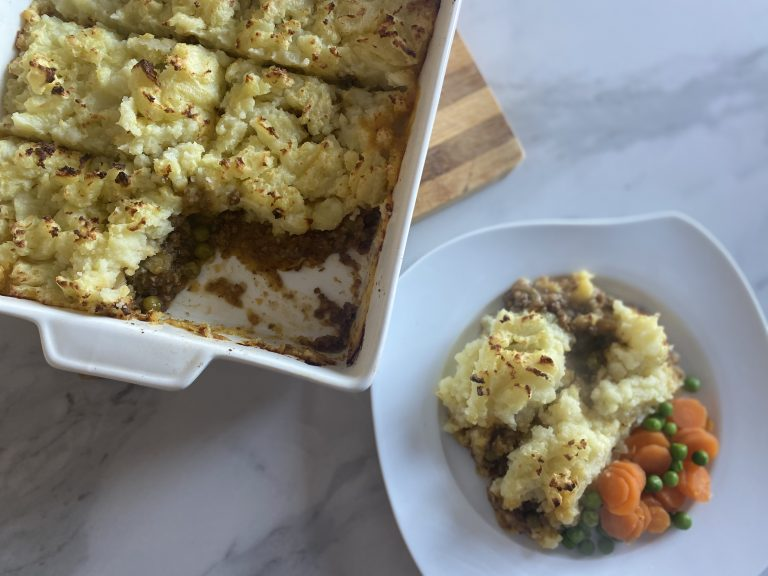 Low FODMAP Shepherd's Pie