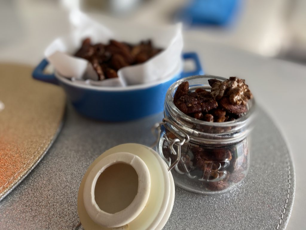 Low FODMAP Roasted and Salted Spicy Nuts