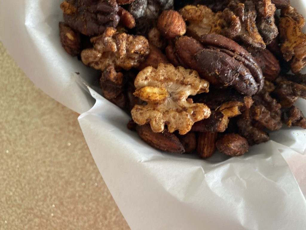 Low FODMAP Paprika Spicy Nuts