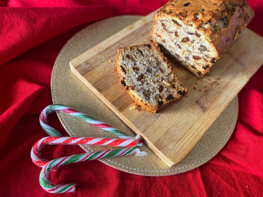 Gluten Free Fruit and Nut Christmas Cake