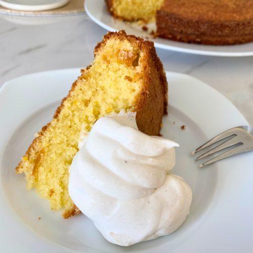 Moist Orange Cake (Low FODMAP)