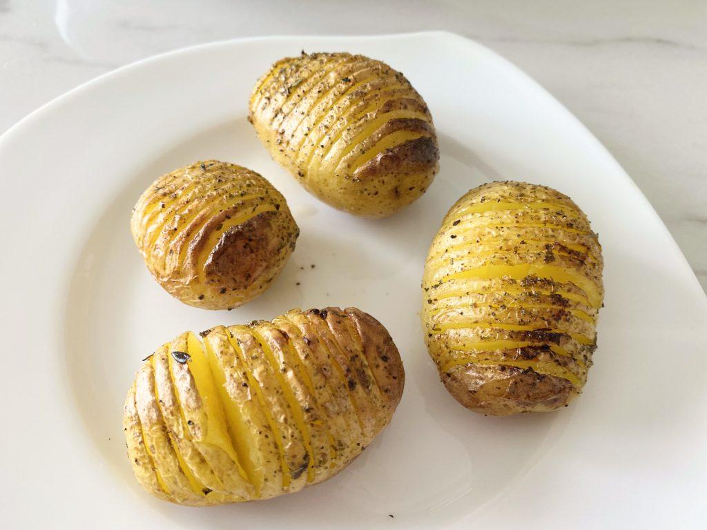 Low FODMAP roast potatoes