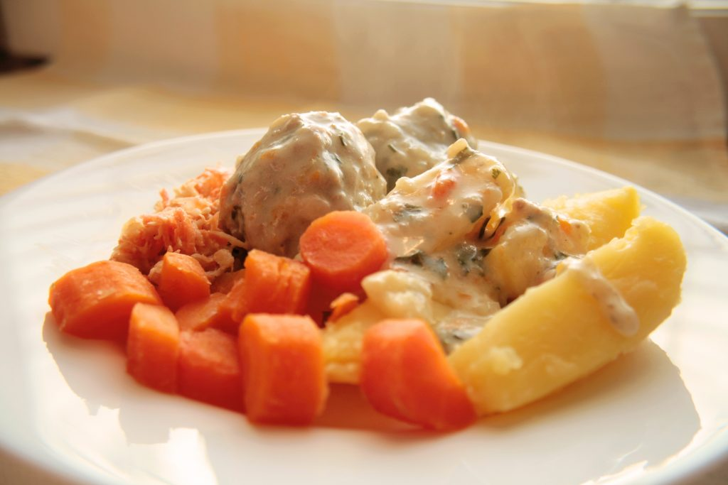 Polish meatballs 'pulpety'